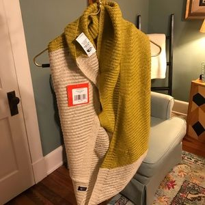 The North Face 2 Tone Infinity Scarf Peyote Beige